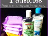 Best Pads for Postpartum Padsicles Diy Postpartum Padsicles Baby Mom Hospital Stuff Pinterest