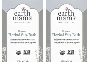 Best Pads for Postpartum Recovery Amazon Com organic Herbal Sitz Bath by Earth Mama soothing soak