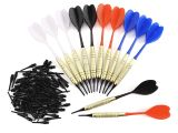 Best soft Tip Darts for Beginners 12 Pcs 4 Sets soft Plastic Needle Tip Dart Darts with