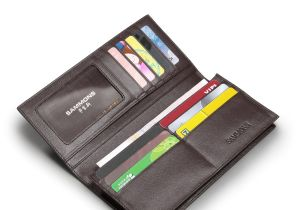 Best Type Of Leather for Wallets Long Type Leather Men Culth Wallet Coffee