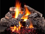 Best Vented Gas Logs Hargrove 30 Inch Cross Timbers Vented Gas Log Set with H