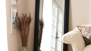 Better Homes and Gardens 27 X 70 Black Leaner Mirror Better Homes and Gardens Black Leaner Full Length Floor