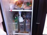 Big Chill Refrigerator Craigslist Freezer organization Using Magazine Holders Things I Made From