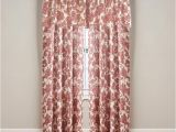 Big Lots Kitchen Curtains Living Colors Verona Wine Curtain Panels and Valance Big