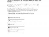 Black Drum Size Limit Nc Pdf Genetic Population Structure Of Black Drum In U S Waters