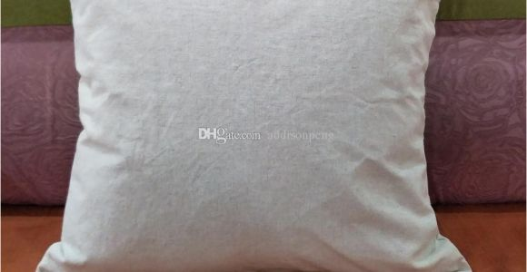 Blank Linen Pillow Covers wholesale Plain Natural Linen Pillow Case Blank Linen Pillow Cover with Hidden