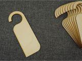 Blank Wooden Door Hangers 10x Wooden Door Hanger Plaque Sign Shape Plain Blank