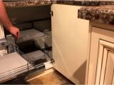 Blind Corner Cabinet organizer Ikea Blind Corner organizer Pull Out Unit Home Design Ideas