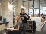 Blow Dry Bar Boca Hair Stylist Work Station Fresh Salon tour Cloud 10 Blow Dry Bar