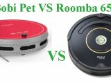 Bobi Pet Vs Roomba Robots Vacuum Cleaners Comparison and Reviews