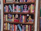 Bookshelf Memory Quilt Pattern Crochet Between Worlds Captain Poprocks Visits the Sydney