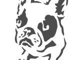 Boston Terrier Pumpkin Stencil Deidre Wicks Boston Terrier Stencil Free Stencil Pattern