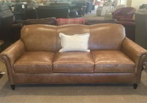 Bradington Young Leather sofa Clearance Bradington Young sofas Nailhead Accented Leather Reclining