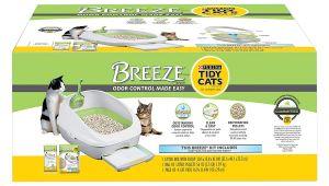 Breeze Cat Litter Box Reviews Amazon Com Purina Tidy Cats Breeze Cat Litter System Starter Kit