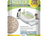 Breeze Odor Control Litter Box Reviews Amazon Com Purina Tidy Cats Breeze Pellets Refill Cat Litter 6