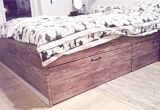 Brimnes Bed Frame with Storage and Headboard Instructions My New Hacked Ikea Bed Ikea Brimnes with Wood Adhesive and