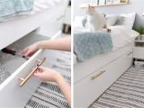 Brimnes Bed Frame with Storage Headboard assembly 21 Best Ikea Storage Hacks for Small Bedrooms