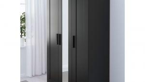 Brimnes Wardrobe with 3 Doors Black Brimnes Wardrobe with 3 Doors Black In 2018 Storage Pinterest