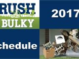Brush and Bulky Schedule Tucson Environmental Services Official Website Of the City Of
