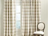 Buffalo Check Curtains Ikea Buffalo Check Curtains In Linen and White 2 by