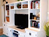 Built In Entertainment Center Plans with Drywall 9 Free Entertainment Center Plans