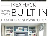 Built In Entertainment Center Plans with Drywall Diy Built In Using Ikea Cabinets and Shelves Blogger Home Projects