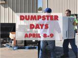 Bulky Item Pickup Kansas City Spring Dumpster Days On April 8 9 City Of Lenexa Nextdoor