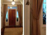 Burlap French Door Curtains Burlap Curtains Burlap Curtains In the Foyer Tudorks On Burlap