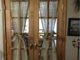 Burlap French Door Curtains Burlap French Doors Diy New Beginnings Pinterest