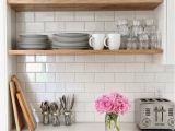 Butcher Block Floating Shelves Rustic Wood Shelving H O M E Kitchen Kitchen Shelves Kitchen