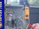 C and C Heating and Air Conditioning 4 Wire and 3 Wire Condenser Fan Motor Wiring How to Eliminate 2 Run