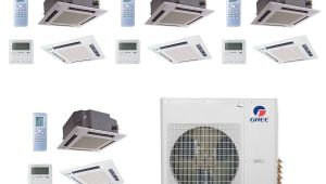 C C Heating and Air Shop Gree Multi36ccas406 36 000 Btu Multi21 Quad Zone Ceiling