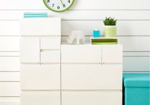Cabinets to Go norfolk Va White Opaque Modular Stackable Drawers the Container Store