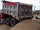 Caliche for Sale Near Me 20 tons Of Stone Delivered by Dump Truck Youtube