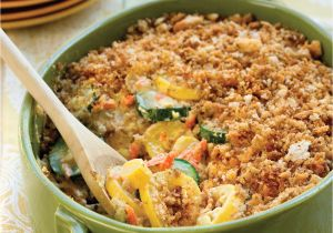 California Blend Vegetable Casserole Velveeta Summer Squash Casserole Recipe Myrecipes