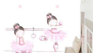 Camas De Princesas Para Niña En Santiago Mural Infantil Bailarinas Barra Ballet Pinterest Mural