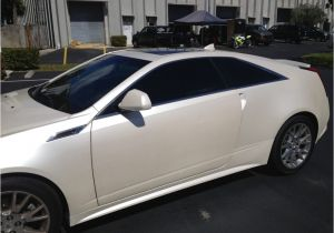Car Window Tinting Pompano Beach Cadillac Cts 2 Dr Coupe with Llumar Ctx 30 Ceramatrix A