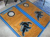 Carolina Panthers Cornhole Boards Virginia Tech Hokies Carolina Panthers Boards