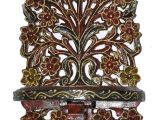 Carved Wood Wall Art India Indian Wooden Wall Shelf Vintage Shelves Hand Carved