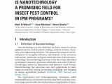 Central Pest Control toms River Nj Pdf is Nanotechnology A Promising Field for Insect Pest Control In
