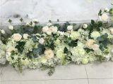 Centros De Mesa Con Flores Artificiales atacado Flor Artificial Mesa De Centro De Mesa De Casamento Arco Corredor De Mesa Pivilon Pano De Fundo Flores Decoraa A O Da Parede