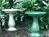 Ceramic Bird Bath Replacement Bowls Bird Bath Bowl Replacement Blue Ceramic Concrete