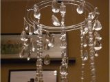 Chandelier Crystals at Hobby Lobby the Happy Homebodies Tutorial Diy Faux Crystal Chandelier