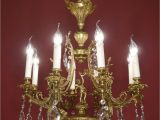 Chandelier Crystals Hobby Lobby Wow Very Beautiful Cherubs Chandelier Brass Crystal Old Vintage