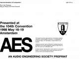 Chapman Heating and Cooling Louisville Aes E Library A thermal Simulation Of Loudspeakers