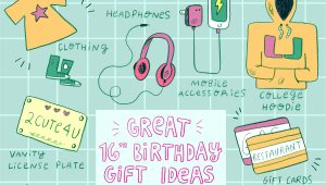 Cheap Birthday Gifts for 13 Yr Old Girl 20 Awesome Ideas for 16th Birthday Gifts