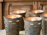 Cheap White Pillar Candles Bulk Uk Metal Olive Bucket Candles these Have A Glass Sleeve so once the