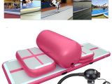 Cheese Mats for Tumbling 5pcs Inflatable Gymnastics Practice Air Track Floor Tumbling Pad