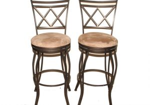 Cheyenne Home Furnishings Swivel Bar Stool Cheyenne Home Furnishings Pair Of Wrought Iron Bar Stools