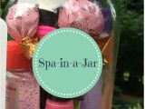 Christmas Gift Ideas for Teenage Girl Pinterest Spa In A Jar Easy Fun Teen Gift Diy Christmas Presents
